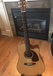 Norman ST68cw all wood acoustic guitar
