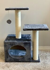 BRAND NEW PURRFECT PALS CAT SCRATCHING CONDO  SCRATCHING POST