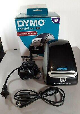 Dymo Labelwriter 450 Label Printer - Blacksilver Used W Box Tested Working