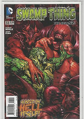 Swamp Thing #33 New 52 vol 5 DC Comics 2011 VF/NM