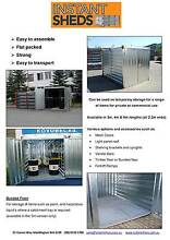 INSTANT SHED - DEMOUNTABLE FLAT PACK CONTAINER Mackay Mackay City Preview