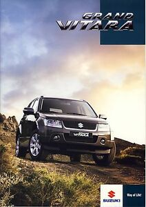 Suzuki Grand Vitara 01 / 2010 brochure catalogue polonais rare - <span itemprop='availableAtOrFrom'> Varsovie, Polska</span> - Suzuki Grand Vitara 01 / 2010 brochure catalogue polonais rare -  Varsovie, Polska