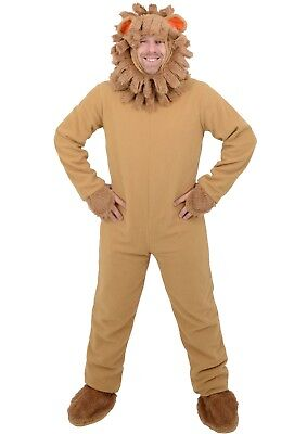 Adult Mens Lion Animal Halloween Fancy Dress Costume World Book Day -One Size - Mens Lion Halloween Costume