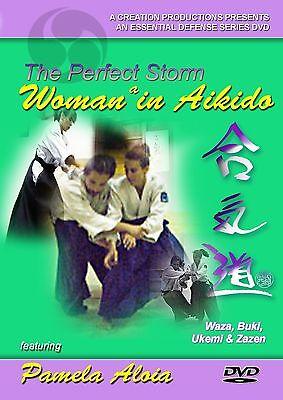 Woman in Aikido DVD NEW jujutsu judo hapkido budo zazen