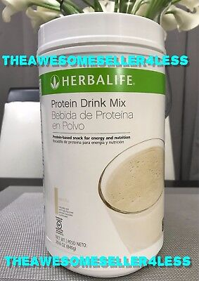 New Herbalife Protein Drink Mix   Vanilla Flavor  29 6 Oz  840G  Large Container