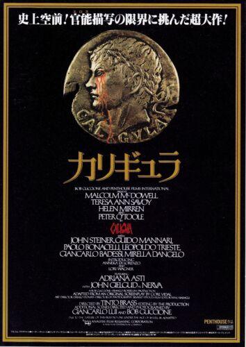 CALIGULA -  Original Japanese  Mini Poster Chirashi