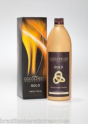 COCOCHOCO GOLD Brazilian Blow Dry Keratin Straightening Treatment 1 Litre KIT