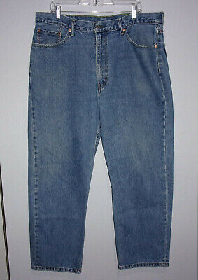 Mens Levis 550 Relaxed Fit Jeans Size 40 X 30 W40 L30