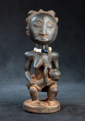 Hemba, Luba Mbumdye Figure, Lukunga River D.R. Congo, Central African Tribal Art