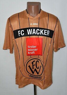 WACKER INNSBRUCK AUSTRIA 2012/2013 THIRD FOOTBALL SHIRT JERSEY JAKO SIZE L image