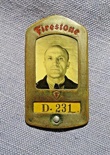 Firestone Employee Badge, WWII Era
