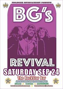 BG's Revival Bee Gees Tribute Show at The RockStar Bar Frankston Frankston Area Preview