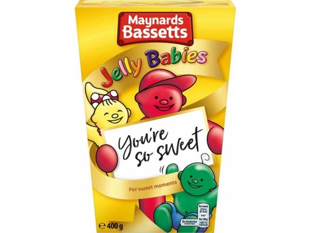Maynards Bassetts Jelly Babies Gift Box 400g