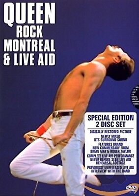 QUEEN - Rock Montreal & Live Aid 2007 Music Concert Collection New Region 2 DVD