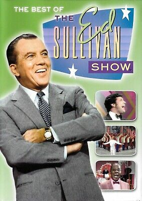 The Best of The Ed Sullivan Show - 3-Disc DVD Color And B&W - FREE Shipping