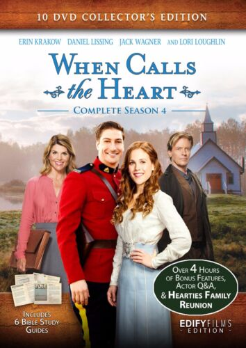 WHEN CALLS THE HEART - COMPLETE SEASON 4 w/ Bonus Movies - Hallmark Channel TV