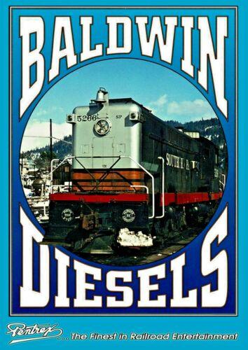 DVD BALDWIN DIESELS ON FOUR CALIFORNIA RAILROADS PENTREX NEW VIDEO