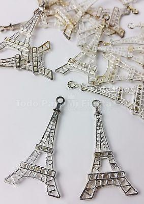 20 pc Eiffel Tower Table Scatters Decoration Torre Eifiel Decoracion Mesa segunda mano  Embacar hacia Argentina
