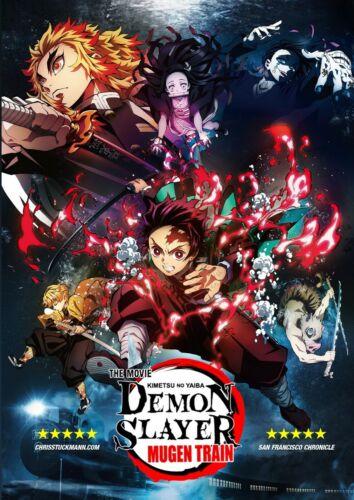 Demon Slayer Kimetsu No Yaiba DVD ( Mugen Train ) - English Dubbed!  New!