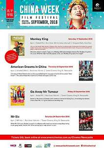 China Film Festival at Newcastle China Week Thornton Maitland Area Preview