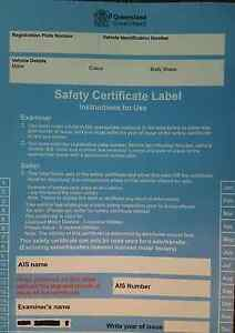 Mobile safety certificate Pacific Pines Gold Coast City Preview