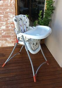STEELCRAFT FOLDABLE HIGHCHAIR : SOLD Willetton Canning Area Preview