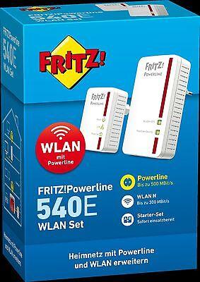 AVM Fritz! Powerline 540e v2 WLAN Set (20002610) von Händler