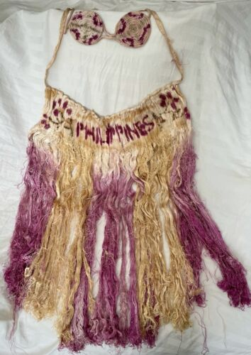 Vintage WWII Hula Skirt Outfit 1940