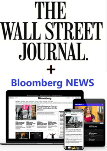 Bloomberg News + WSJ Pack Lifetime Digital Subscription Worldwide Free Region