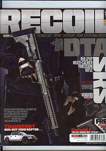 Recoil Magazine Volume 1 Issue 5 2013 DTA Handgun Rifle