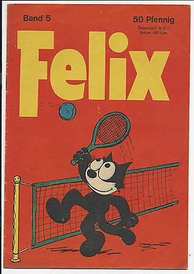 Felix Nr. 5 - Bastei Verlag Original Heft von 1958 im Zustand 1-2