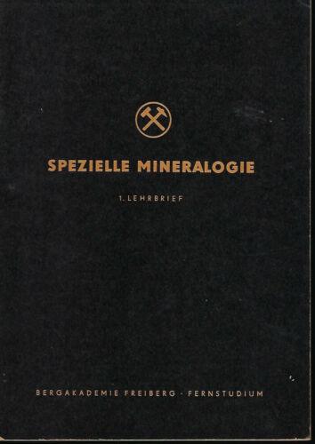 8 Bände Spezielle Mineralogie Bergakademie Freiberg Geologie Leutwein 1954-1966