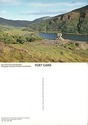 1980's GLEN TROOL KIRKCUDBRIGHTSHIRE SCOTLAND COLOUR POSTCARD