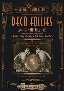 DECO FOLLIES  (Burlesque show ) Melbourne CBD Melbourne City Preview