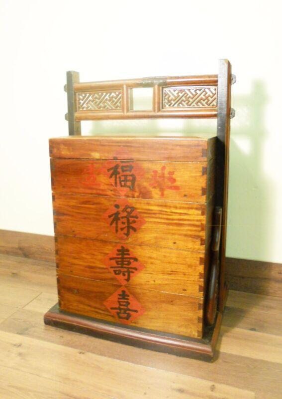 Antique Chinese Storage Trunk (5693), Phoebe Nanmu/Cypress wood, Circa 1800-1849
