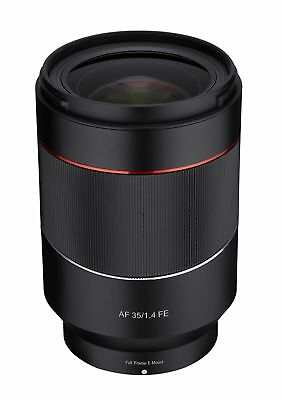 Rokinon AF 35mm F1.4 Full Frame Auto Focus Wide Angle Lens for Sony E Mount FE
