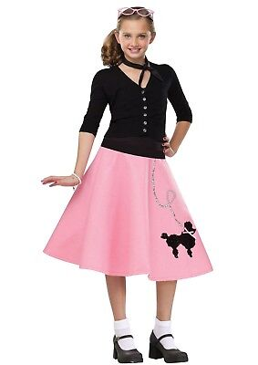 50 S Costumes (50s 50's Poodle Skirt Grease Child Costume)
