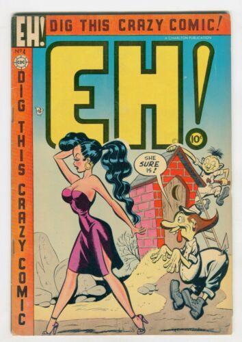 EH! #4  VG/F Classic GGA brick ****house cover.