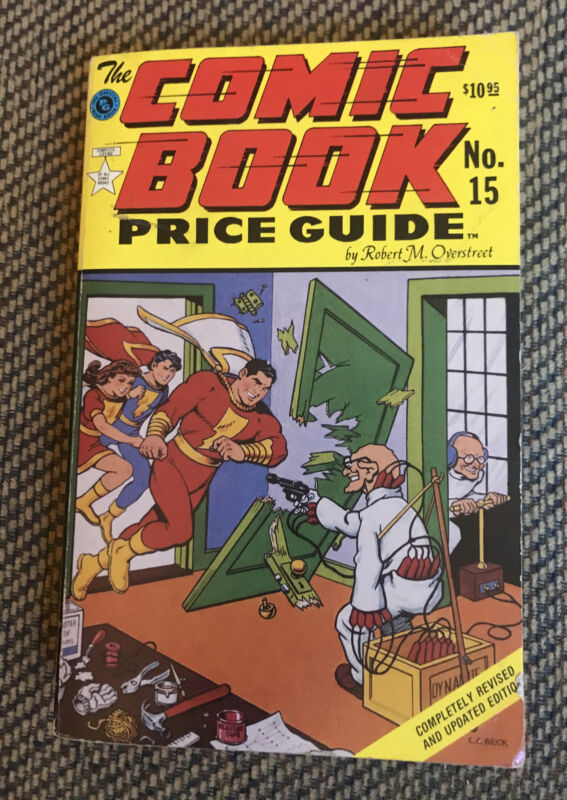 The Comic Book Price Guide 15 (1985 - 86) Overstreet Captain Marvel Fawcett SC
