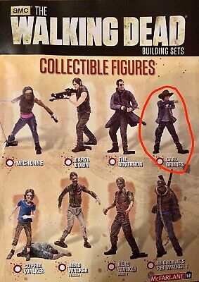 CARL GRIMES ohne Hut - The Walking Dead Building Sets Collectible Figures S1 ()