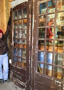 Huge antique doors