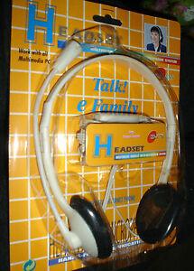 SUPER ASTA 1 EUR Cuffie Stereo con Microfono per Pc e Hi-fi regolazione volume - Italia - SUPER ASTA 1 EUR Cuffie Stereo con Microfono per Pc e Hi-fi regolazione volume - Italia