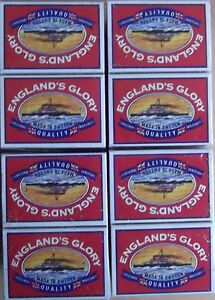 20-ENGLANDS-GLORY-MATCH-BOXES-20-PACKS-QUALITY-STRIKE-ANYWHERE-MATCHES