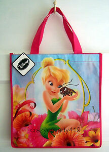 TINKERBELL-TOTE-BAG-DISNEY-PIXAR-FAIRIES-REUSABLE-TOTE-ECO-BAG-TOY-PACK-NEW