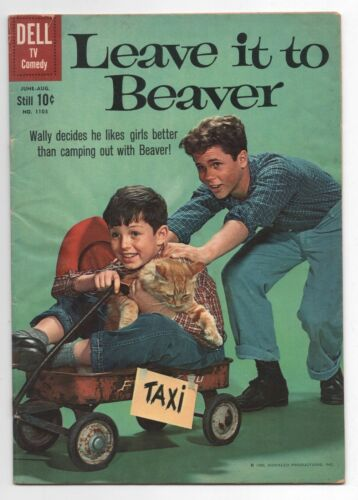 DELL  FOUR COLOR COMICS  LEAVE IT TO BEAVER  1103  1960