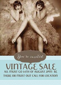 VINTAGE GARAGE SALE  14th of August 1pm until 630pm Barton South Canberra Preview