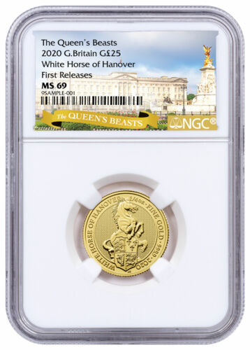 2020 Britain 1/4 oz Gold Queen