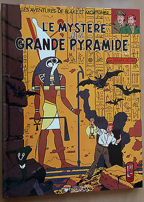 Blake et Mortimer 5 reed Le Mystère de la Grande Pyramide 2 Jacobs