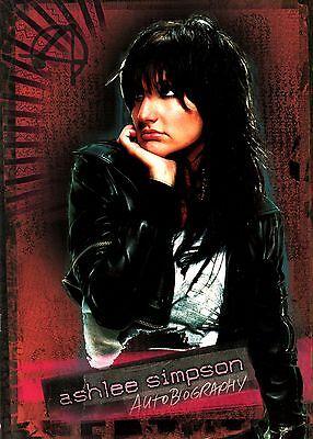 ASHLEE SIMPSON 2005 AUTOBIOGRAPHY TOUR CONCERT PROGRAM BOOK / N MINT 2 MINT