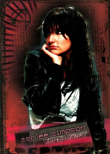 ASHLEE SIMPSON 2005 AUTOBIOGRAPHY TOUR CONCERT PROGRAM BOOK BOOKLET / NMT 2 MINT